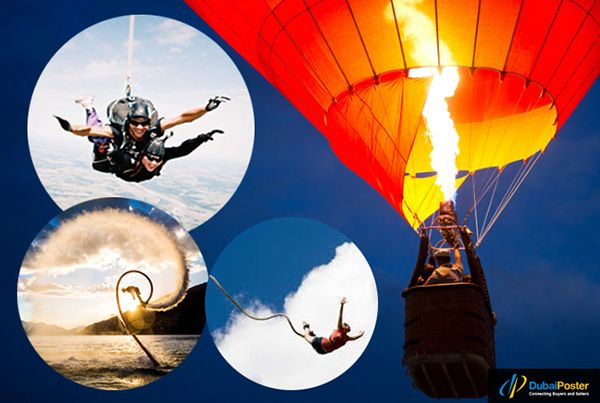 Amazing #top 5 #adventure #outdoor #activities #sports #games #services and more things @dubaiposter