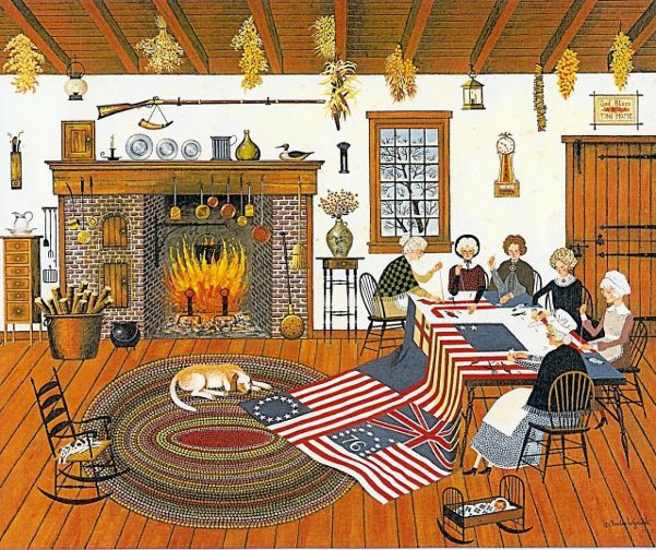 Quiltmakers ~ Charles Wysocki