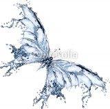 Water splash butterfly 2 - 39793377