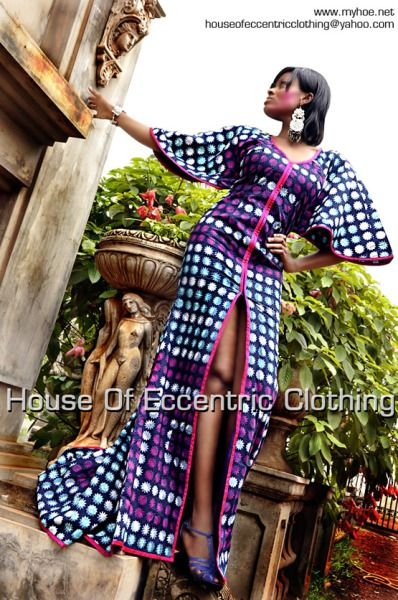 House of Eccentric Clothing collections for Vlisco Ghana