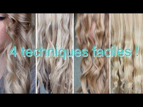 10 Techniques Faciles Pour Boucler Vos Cheveux Naturellement et Sans Chaleur | Coiffure simple et facile