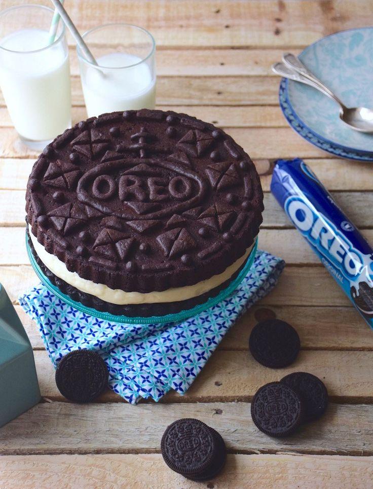 Gâteau Oreo géant - Anne-Sophie Fashioncooking