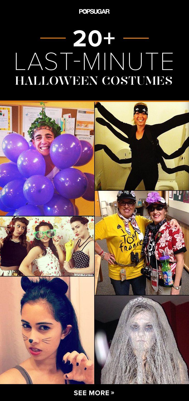 28 Last-Minute DIY Halloween Costumes