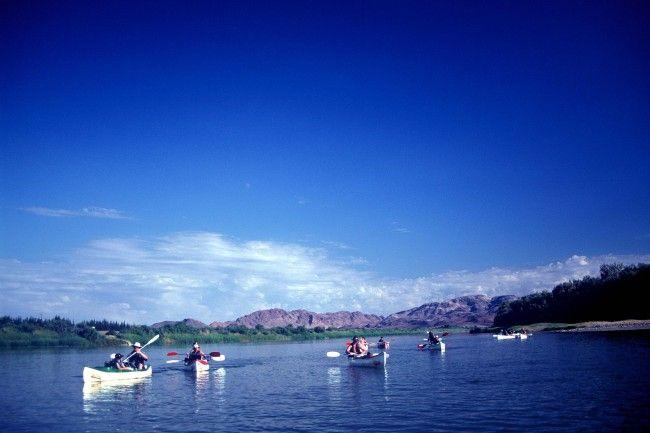 Aquatrails - River Rafting on the Orange River, Northern Cape