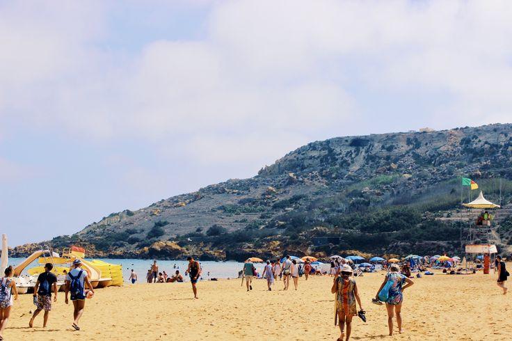 Ramla Bay in Gozo, Malta