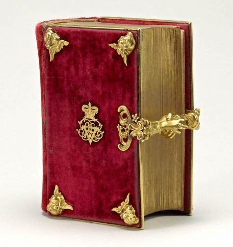 The Book of Common Prayer, 1839, Presented to Queen Victoria by her mother, the Duchess of Kent, on her wedding day, 10 February 1840.