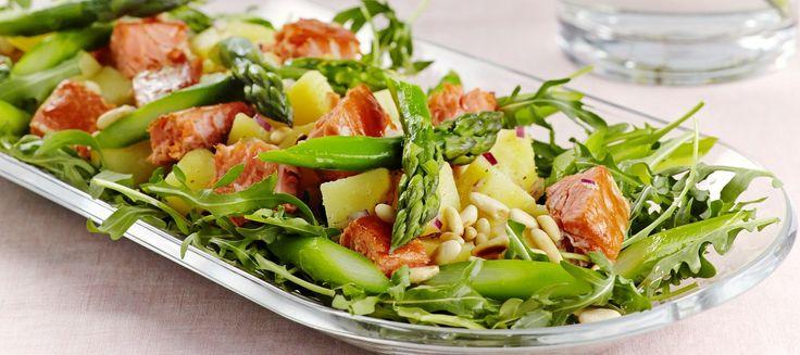 Savulohi-perunasalaatti