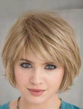 Trendy Idea Haircut & Hairstyle Woman 2017/2018: Frisur Kurzes Haar Runde ...