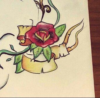work in progres #tattoos #oldschool #design #naples #tatuaje #dontstop #good #istagram #napoli #tatuaggio #skull #studio #casalnuovo #art #arte #istagood #fantasyart #fantasy #penna