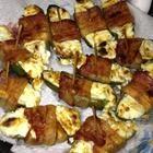Stuffed Jalapeno Firecrackers-allrecipes. I like the idea of adding pineapple to the cream cheese. Yummy!