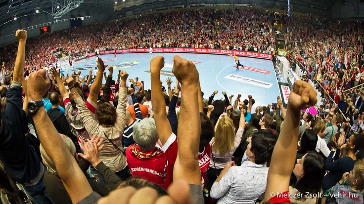 Gólöröm az Arénában a Kiel elleni meccsen!