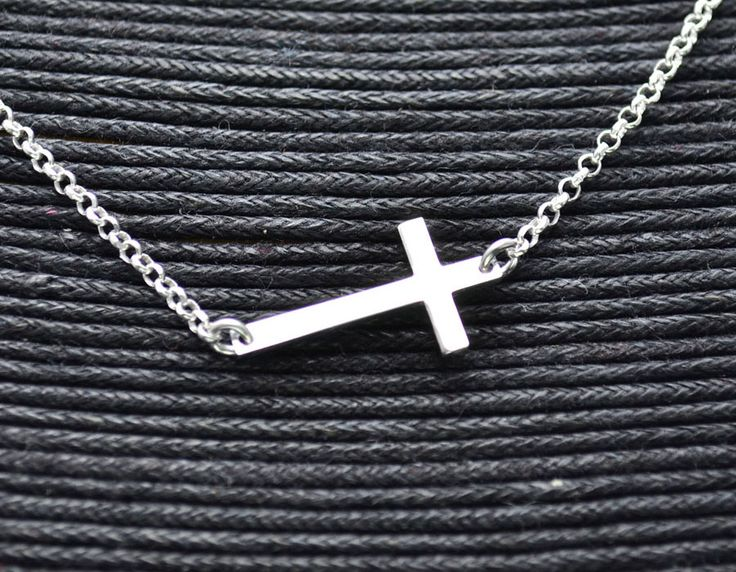Collar de Plata Cruz