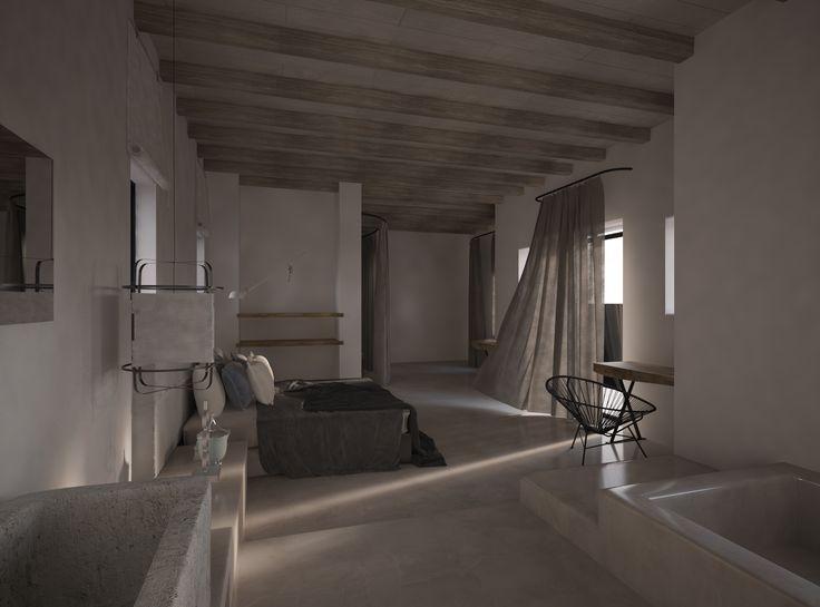 Mykonos #AlexandraKoulouri&IoannaMari # MostChicInteriors&Ideas # Interiordesigners # Inspiration #decorvibes #bedroom