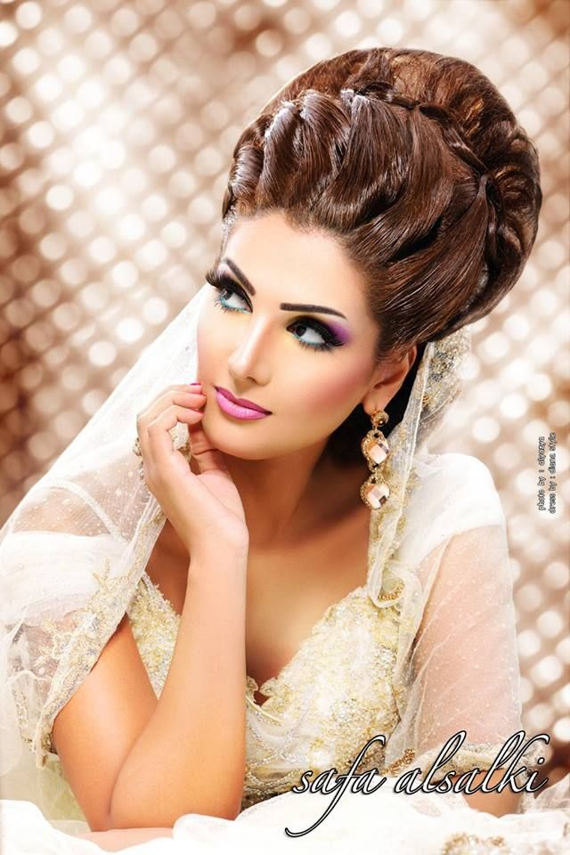 Pin By Zs 243 Fia Pink On Arabic Makeup And Hairstyles