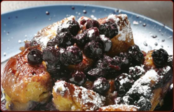 Blueberry Bread Pudding - Traeger Grill Recipes