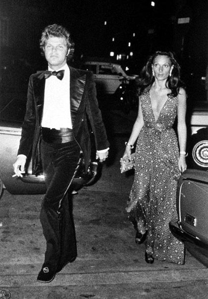 Rome 1969 Diane Von Fürstenberg During Her Marriage To Prince Egon