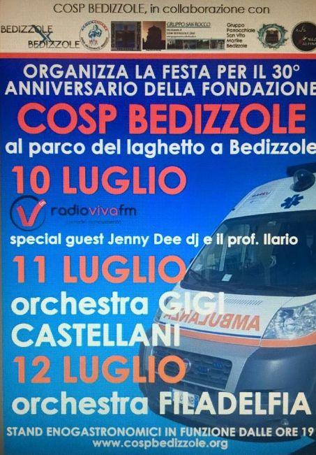 30 Anniversario Cosp Bedizzole http://www.panesalamina.com/2015/37642-30-anniversario-cosp-bedizzole.html