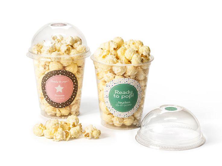 I'm ready to pop!!  Popcorn zelf maken is al een feestje op zich. Maar geen zin…