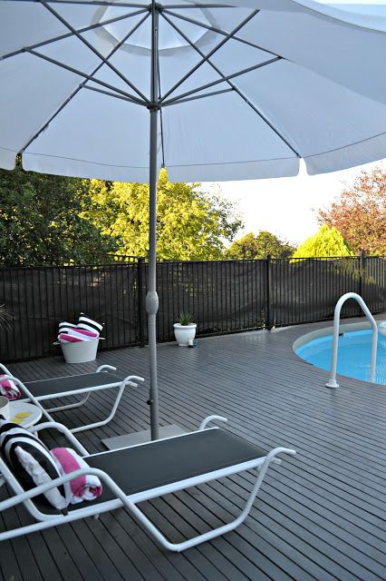 The Pool: Decorated