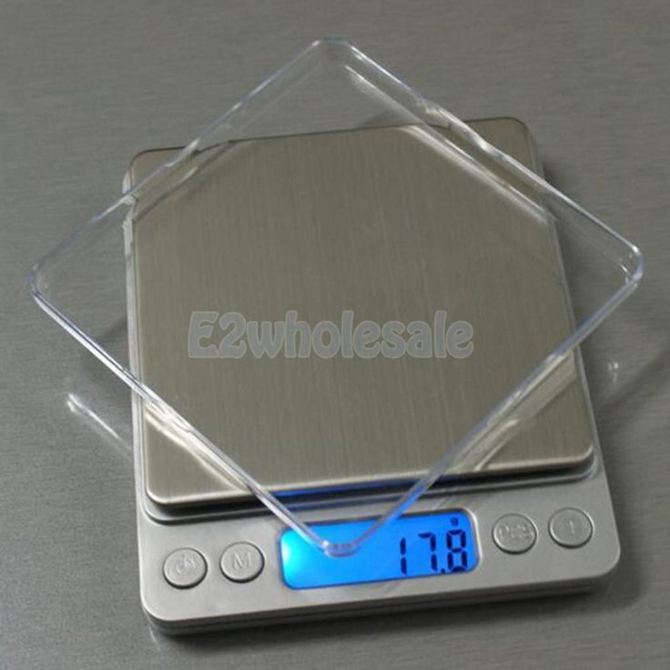 Digital Display Jewelry Gram Scale Food Weight Diet Balance 5 Sizes Measure