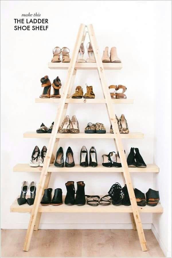 Originale étagère à chaussures... ...
