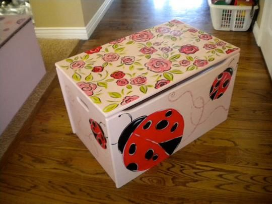 20 Best Painted Boxes Ideas Images On Pinterest Toy
