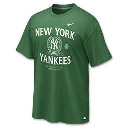 Nike MLB New York Yankees St. Patricks Day Men's Tee Shirt