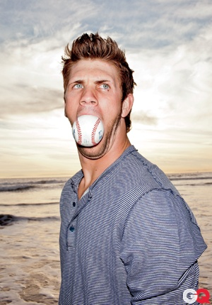 """GQ: A profile of the Washington Nationals' 19-year-old prospect Bryce Harper, dubbed """"the LeBron of baseball."""""""