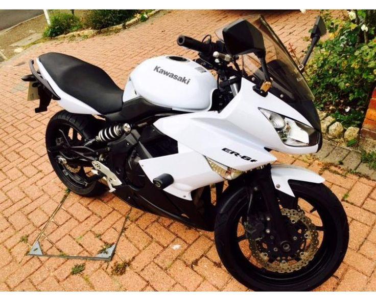 KAWASAKI ER6F - White/ Black, low mileage