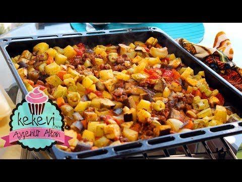 Fırında En Kolay Etli Sebze Kebabı (İftar Menüsü İçin) | Ayşenur Altan Yemek Tarifleri - YouTube