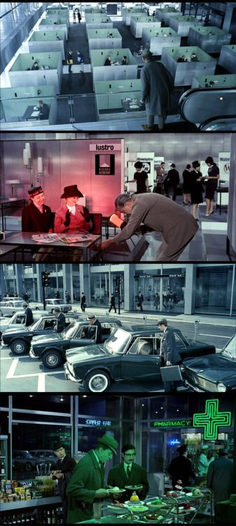 Play Time, 1967 (dir. Jacques Tati)