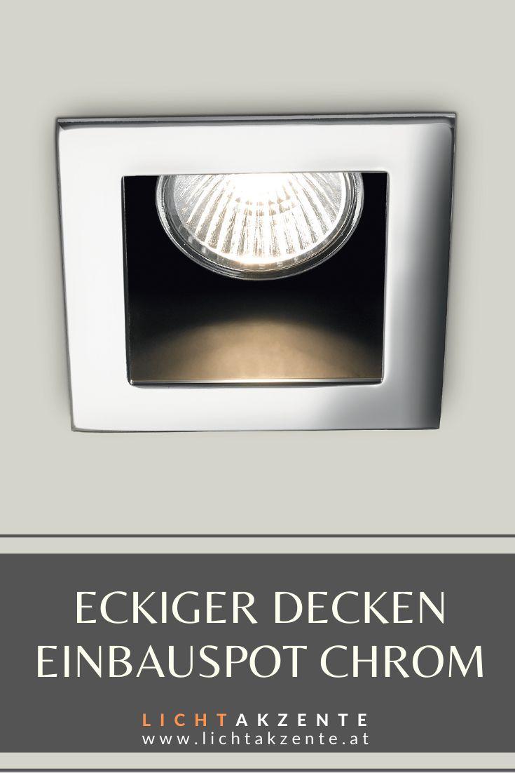 Ideal Lux Eckiger Einbauspot Funky In 2020 Einbauspots Moderne Lampen Wohnzimmer Led Lampen Decke
