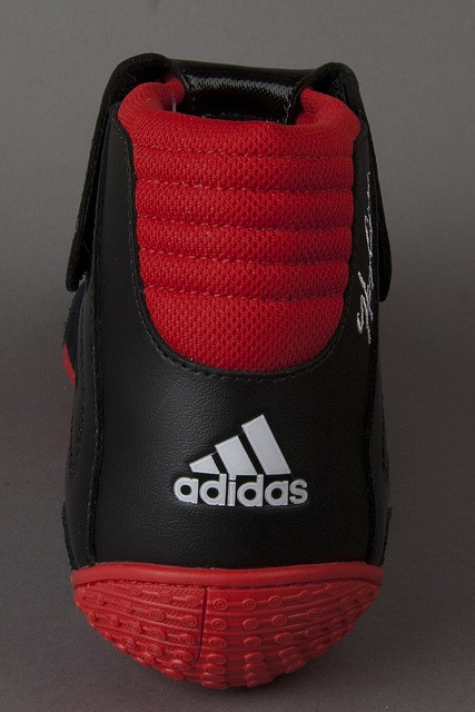 adidas Wrestling Shoes Black Red...