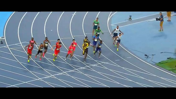 Usain bolt finishes 4x100m relay with gold / Rio 2016