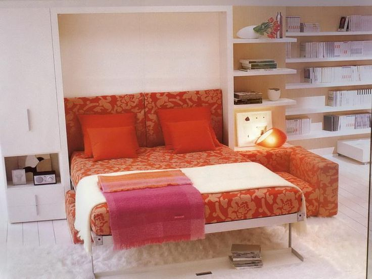 Modern Murphy Bed With Sofa. Smartness. Home Design Ideas