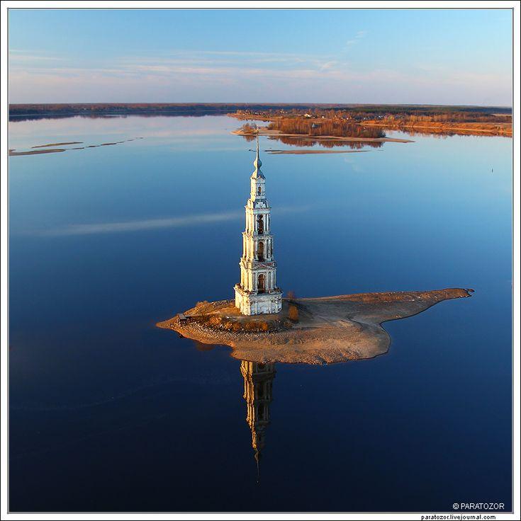 Фотография Калязинская колокольня. из раздела путешествия №5933991 - фото.сайт - Photosight.ru
