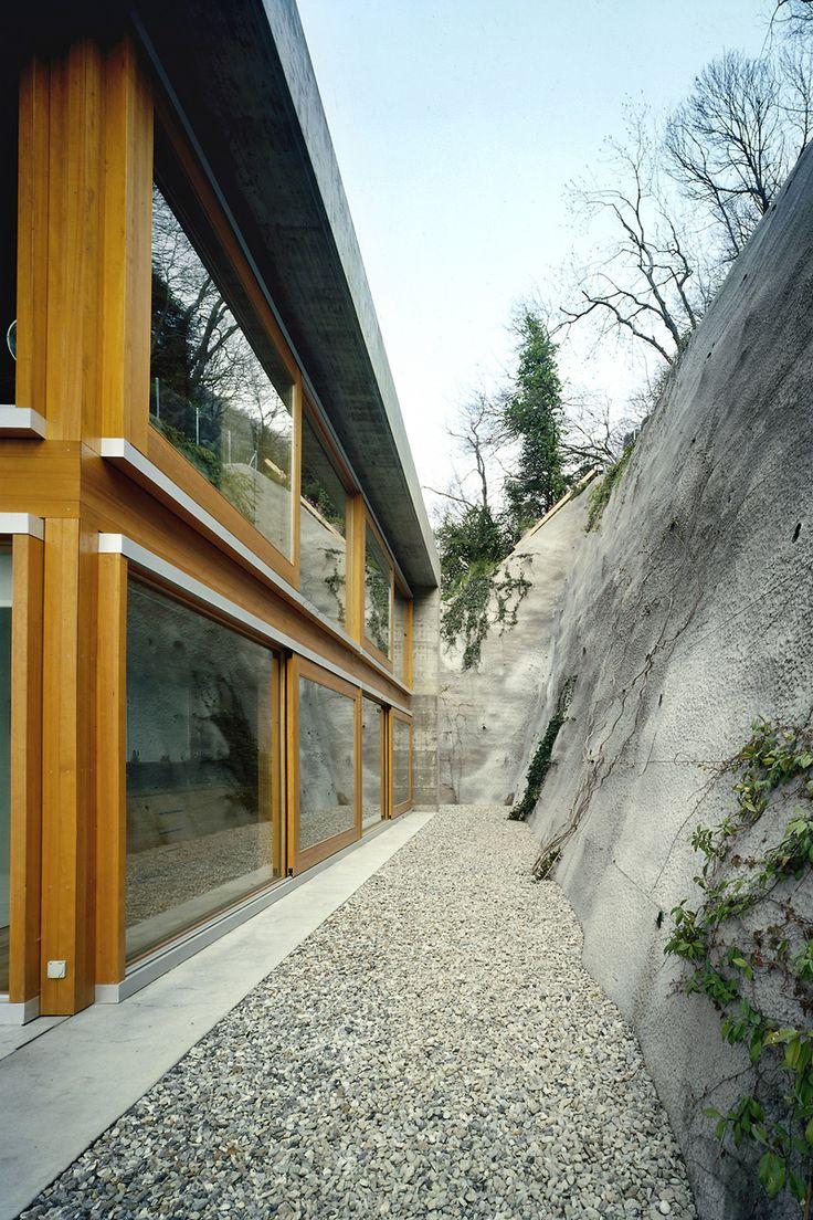 Koerfer House   Locarno, Switzerland    Studio di Architettura Vacchini   photo Alessandra Chemollo