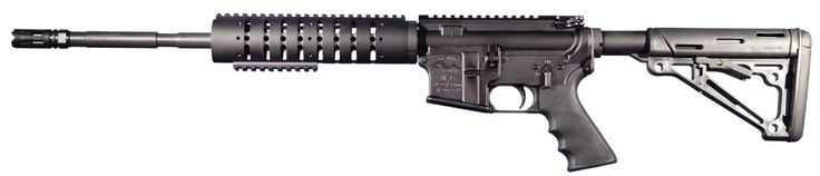 Anderson Manufacturing's M4 Carbine (AM15M416) improves on a familiar and reliable military spec rifle.  Similar to Anderson's Heavy Barrel Carbine, the M4 is chambered in .223/5.56mm and offering a 16-in. M4 barrel, optics-ready Picatinny rail, and front-mounted low profile gas block, also with a Picatinny rail.  With its Magpul MOE stock and Hogue pistol grip and quad rail fore end, the M4 Carbine is also treated with RF-85.