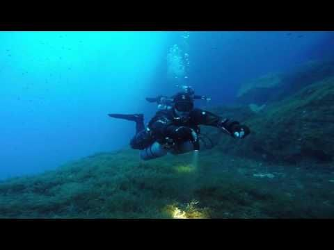 Gozo Technical Diving trimix dive at Inland Sea Gozo