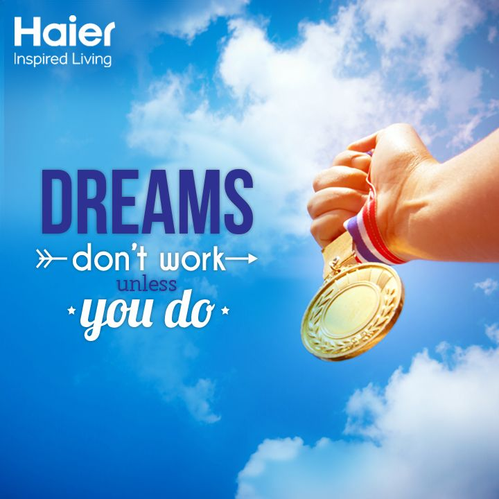 It's time to recharge yourself with your #MondayMotivation dose from #Haier. Make the most of the day! #HaierLife #Quote