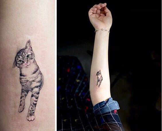 1000 Tatuajes De Gatos Significados Modelos E Inspiraciones