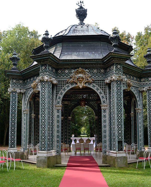 Trauung in Laxenburg im grünen Pavillon - immer eine tolle Location!