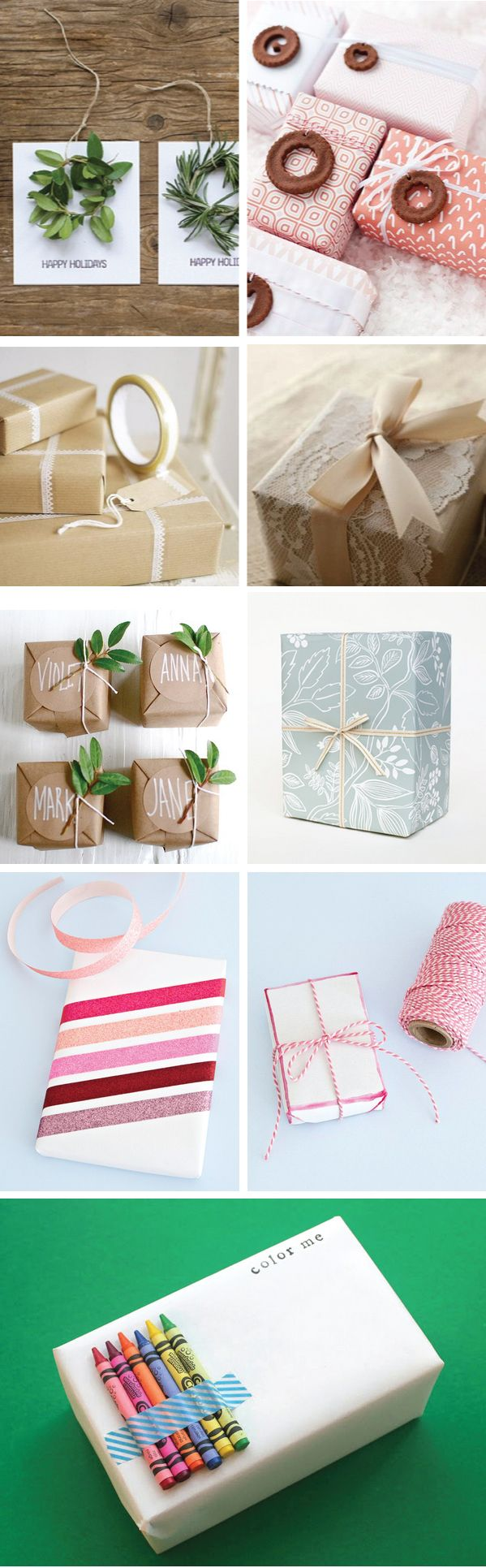 Simple gift wrapping ideas for Christmas http://stephprince.com/understated-gift-wrapping-ideas/
