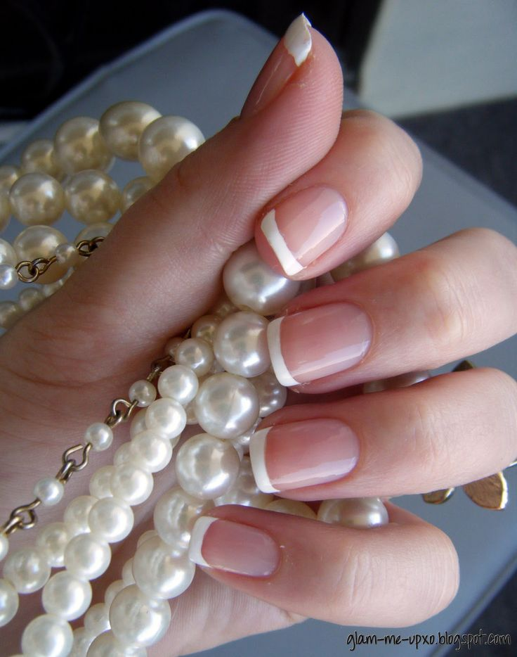 Love french manicures...