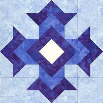 God's Eye -- have seen lots of blocks before, but can't recall ever seeing this beautiful one til now