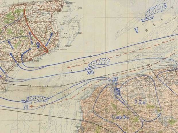 Operation Sea Lion: Hitler's plan to invade Britain marked with publication of Nazi war charts - Home News - UK - The Independent