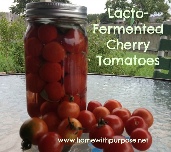 Lacto-Fermented Cherry Tomatoes LactofermentedCherryTomatoes_zpsb4eeed8f.jpg