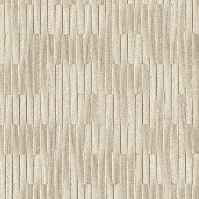 Mirror Mirror Wallpaper in Pewter by Ronald Redding for York Wallcoverings