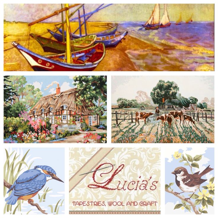 We have exciting new Collection d'Art Tapestry canvases now available for purchase! Head to: http://www.luciatapestrieswoolcrafts.com.au/buy-online/NEW/ to buy today!