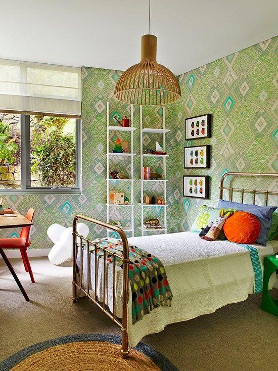 子供部屋 The Art Apartment 女の子の部屋 - ベッドルーム - 普通 物件 新築 インテリア実例
